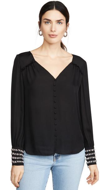 Cinq a Sept Amanda Top in black