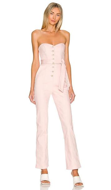 MAJORELLE Rashida Jumpsuit in Pink