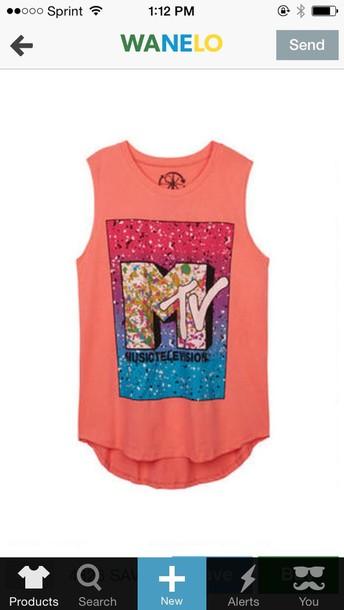 blouse mtv 90s style