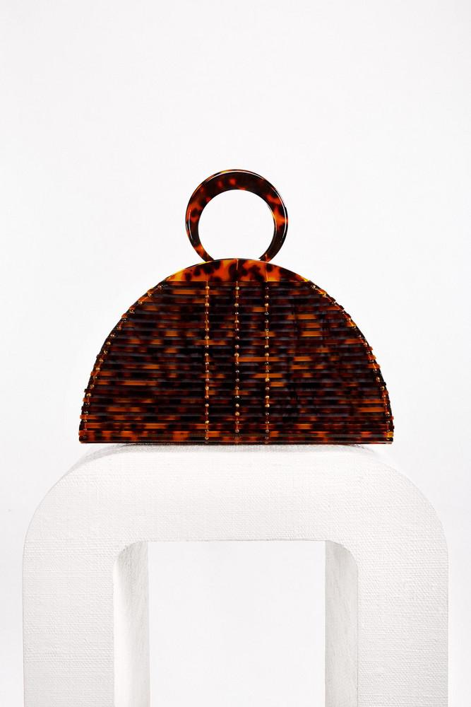 Cult Gaia Neema Bag - Tortoise                                                                                               $298.00
