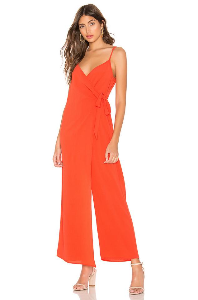 Show Me Your Mumu Daria Jumpsuit in orange