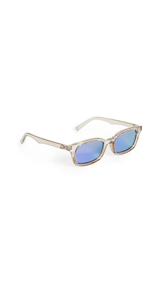 Le Specs Carmito Sunglasses in stone / violet