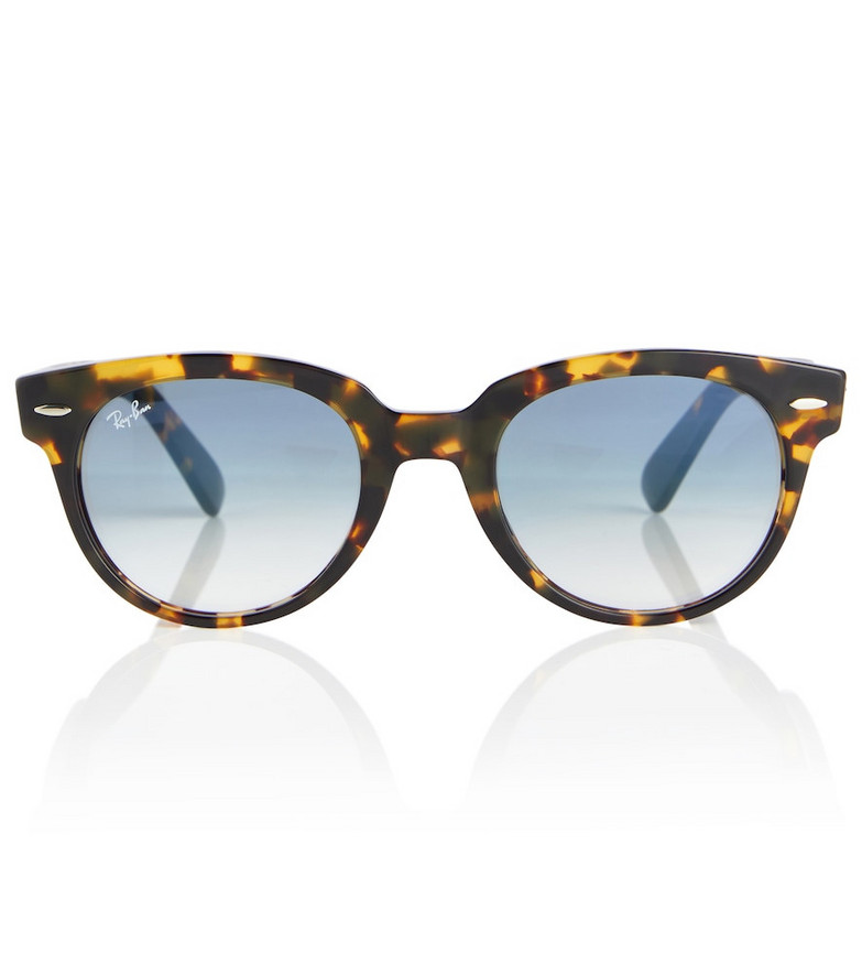 Ray-Ban RB2199 round sunglasses in brown
