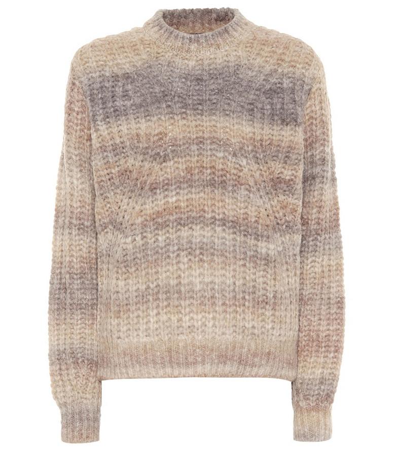 Marianne alpaca-blend sweater in beige