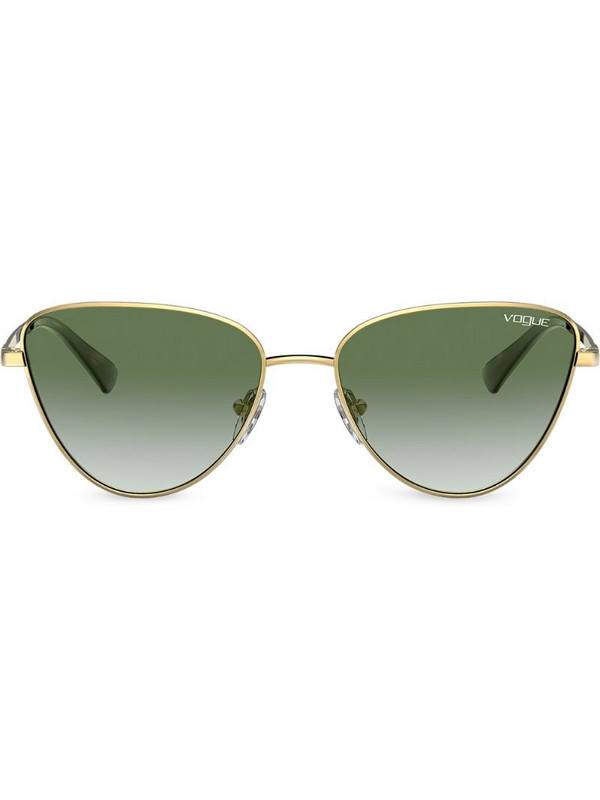 Vogue Eyewear cat eye frame sunglasses in gold