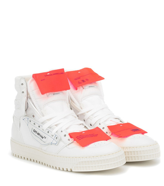 Off-White Off-Court 3.0 leather sneakers in white