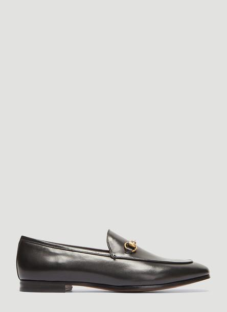 Gucci Jordaan Leather Loafer in Black size EU - 36.5