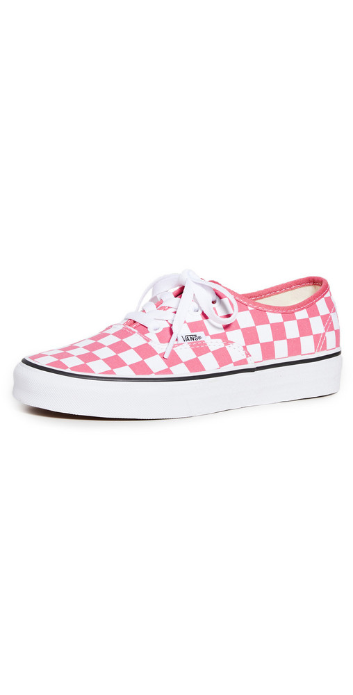 Vans Authentic Sneakers in pink / white