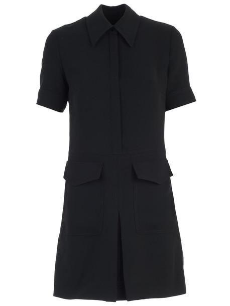 Victoria Victoria Beckham Dress S/s W/pockets in black