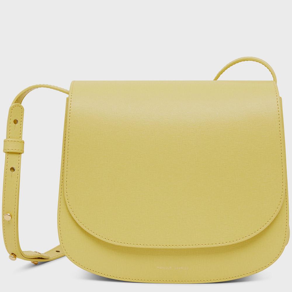 Mansur Gavriel Classic Shoulder Bag - Cedro