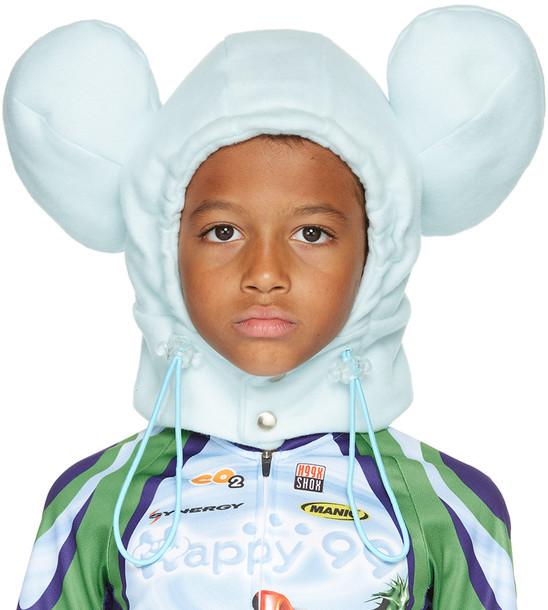 Happy99 SSENSE Exclusive Kids Blue Happy Hat