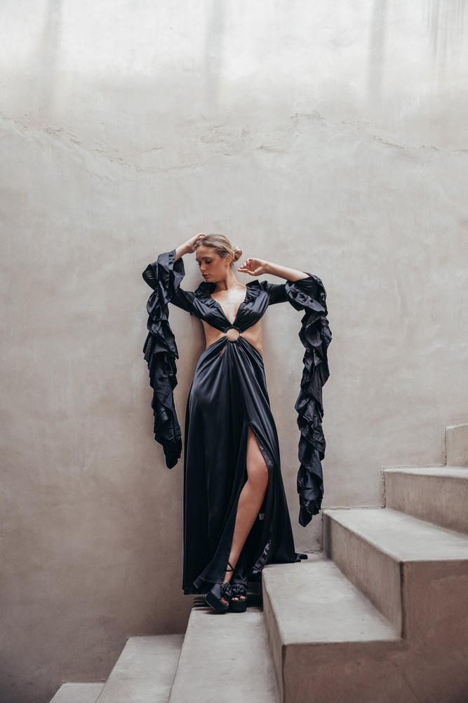 Cult Gaia Kaia Gown - Black                                                                                               $1,098.00