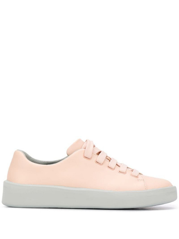 Camper Courb low-top leather sneakers in pink