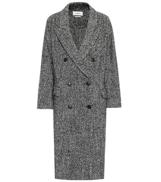 Isabel Marant, Étoile Habra coat in grey