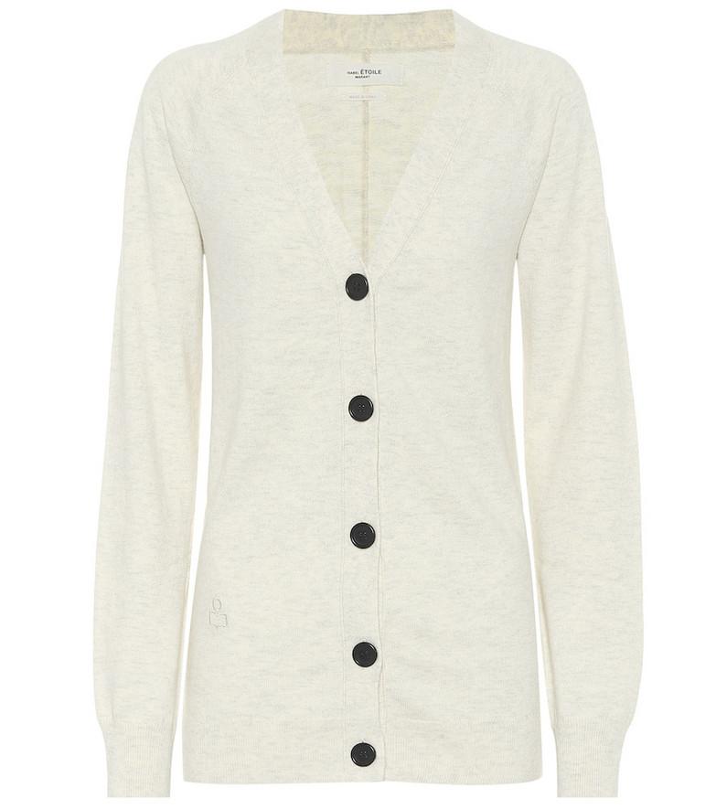 Isabel Marant, Étoile Karrick cotton-blend cardigan in grey
