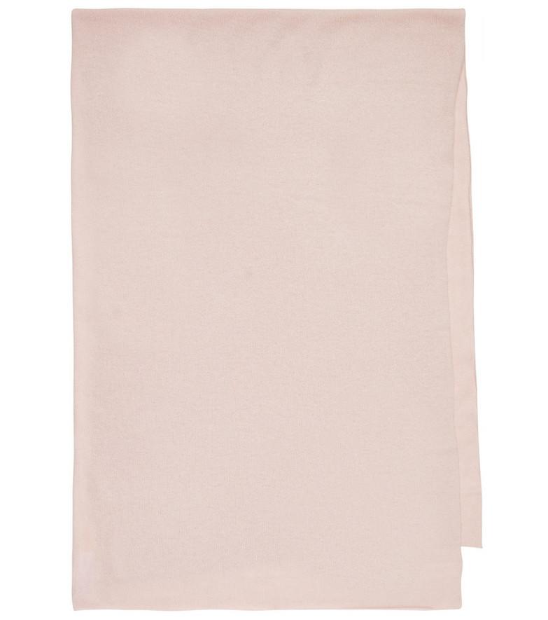 Jardin des Orangers Cashmere scarf in pink