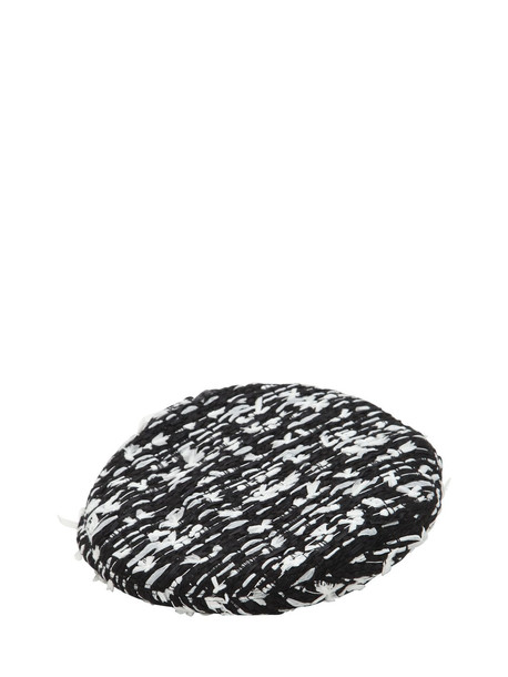 EUGENIA KIM Cher Boucle Hat in black / white