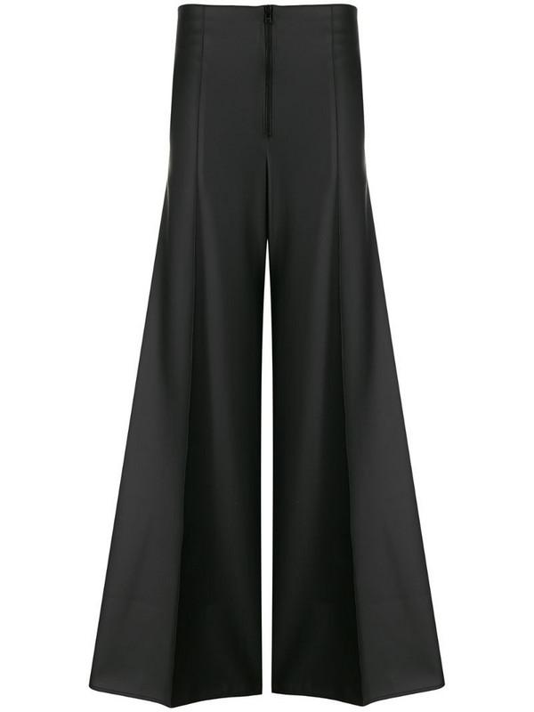 Kwaidan Editions wide leg phat trousers in black
