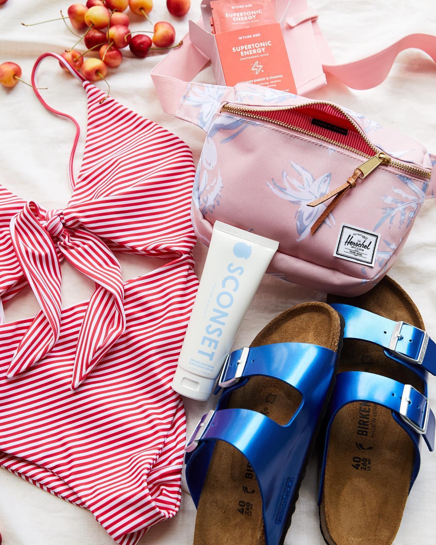bag swimwear shoes