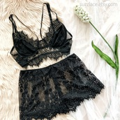 underwear,lingerie,lingerie set,bralette,lace bralette,lace bra,sexy lingerie,bra,fashion,black,black lingerie,boho,plus size,plus size lingerie,strappy bra,fashionista,style,blogger style,trendy,gift ideas,holiday gift,valentines day gift idea,ootd,indie,lace,lace top,lace lingerie,lace romper,lace shorts,shorts,summer shorts,summer,summer outfits