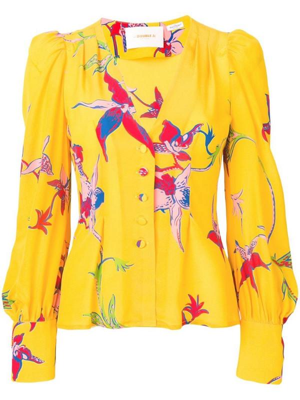 La Doublej Smokin'Hot shirt in yellow