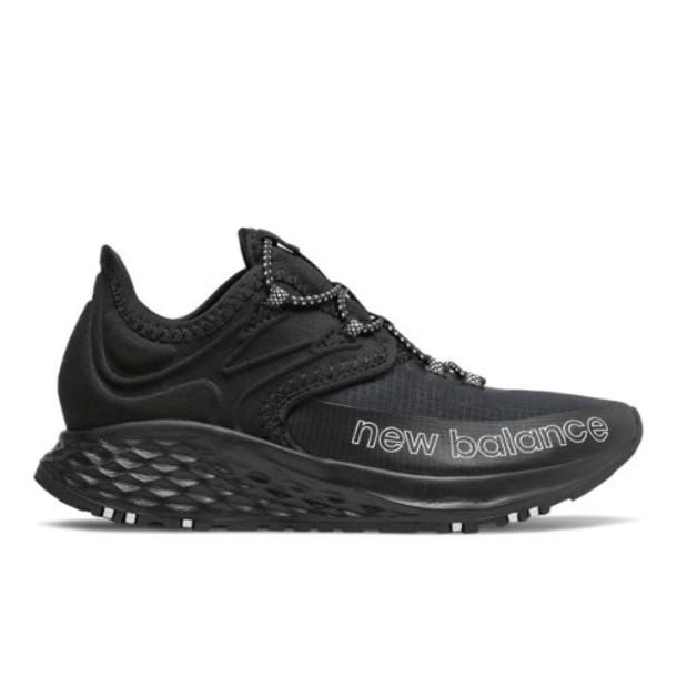 New Balance Fresh Foam Roav Trail Kids' Shoes - Black/White (PDTROLK)