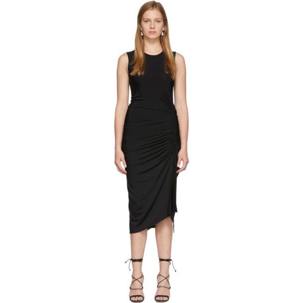 Altuzarra Black Sleeveless Mid Dress