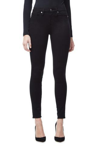 Good Legs Black001 High Rise Skinny Jeans Size 0   25