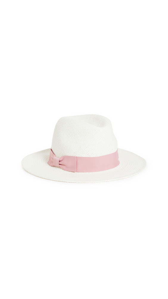 Hat Attack Panama Continental Hat in blush