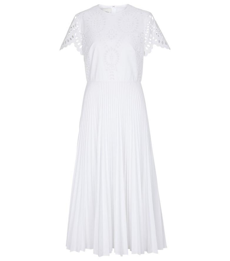 Valentino San Gallo Edition midi dress in white