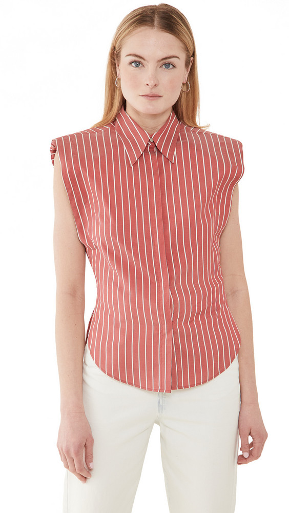 Isabel Marant Enza Blouse in red