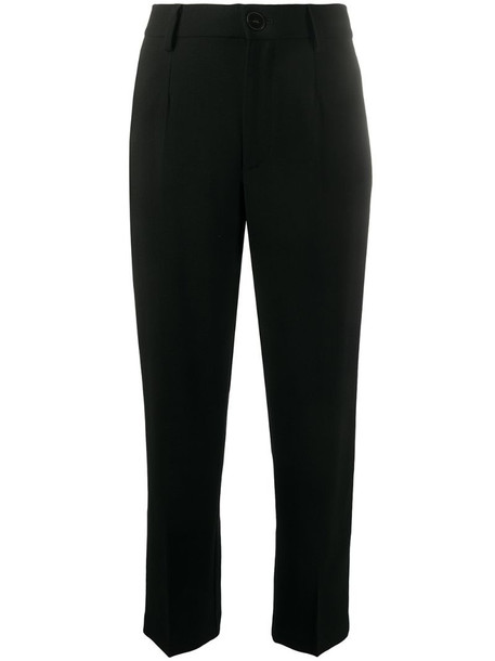 Forte Forte straight-leg tailored trousers in black