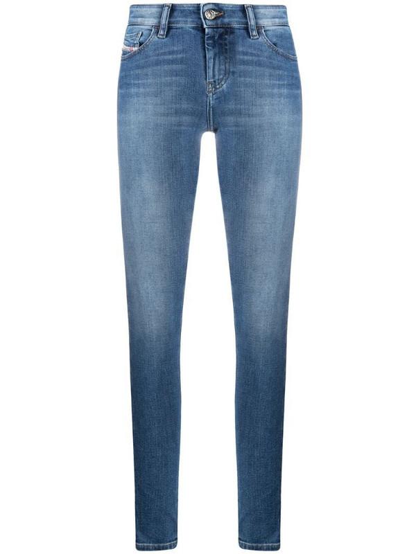 Diesel Slandy super skinny jeans in blue