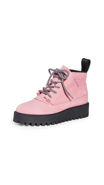 LAST Rocky Boots in pink