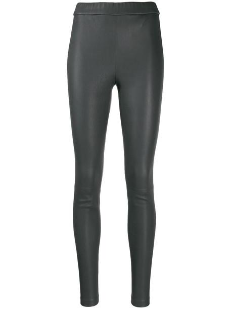 Helmut Lang slim fit leggings in grey