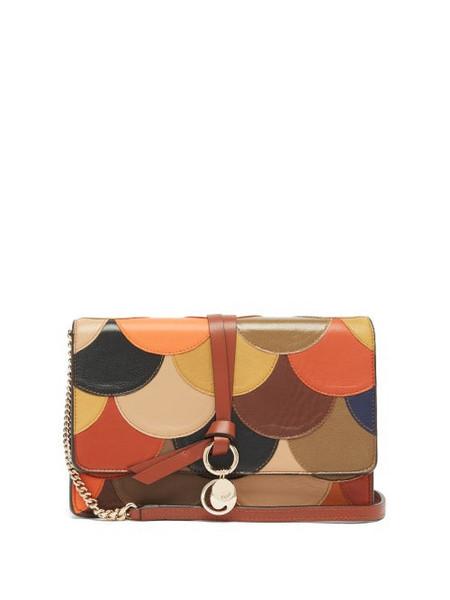 Chloé Chloé - Alphabet Patchwork Leather Cross-body Bag - Womens - Multi