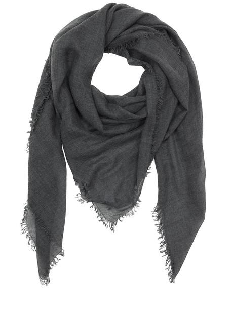 FALIERO SARTI Soft Cashmere & Silk Light Scarf in grey