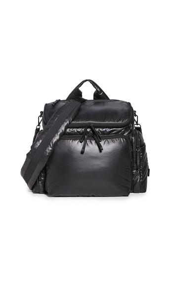 Caraa Medium Baby Bag in black