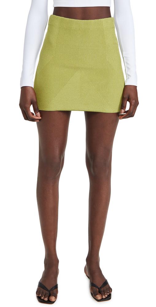 GAUGE81 Fasnia Skirt in green