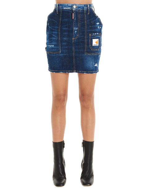 Dsquared2 dalma Skirt in blue