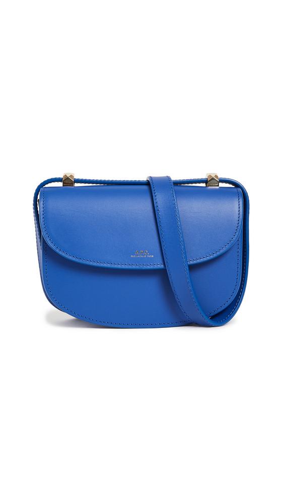 A.P.C. A.P.C. Sac Geneve Mini Bag in blue