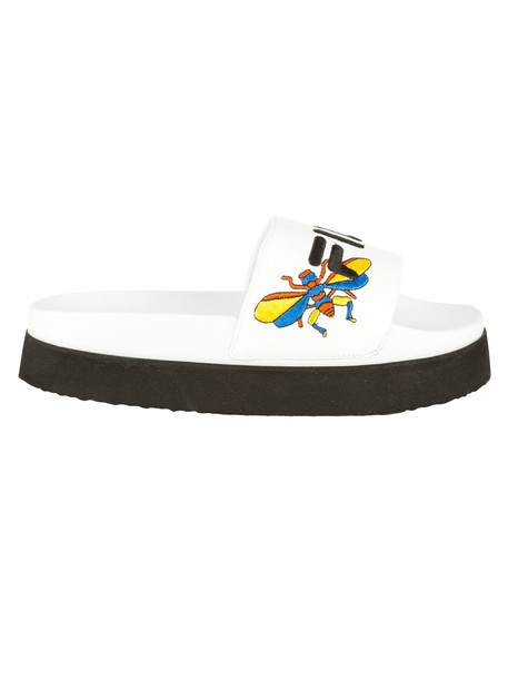 Fila Morro Bay Flat Shoes in bianco
