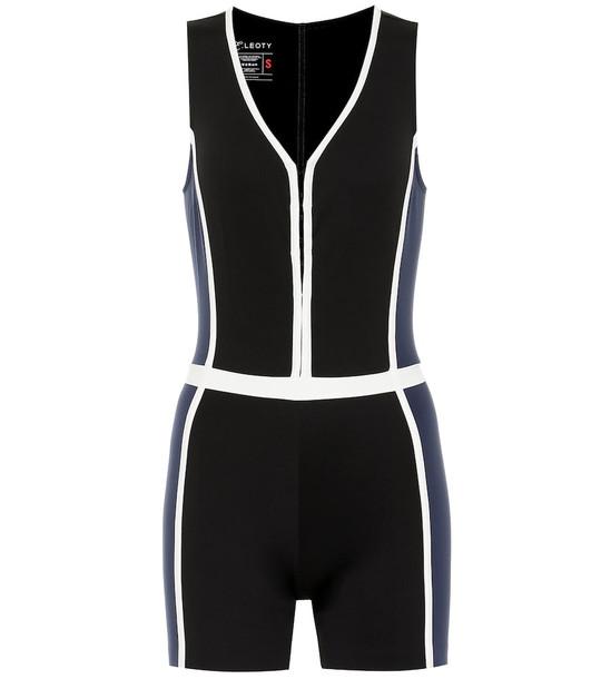 Ernest Leoty Corset Shortie bodysuit in black