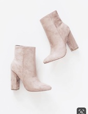 shoes,boots,booties,socks,suede,suede boots,velvet,pink,high heels,tall