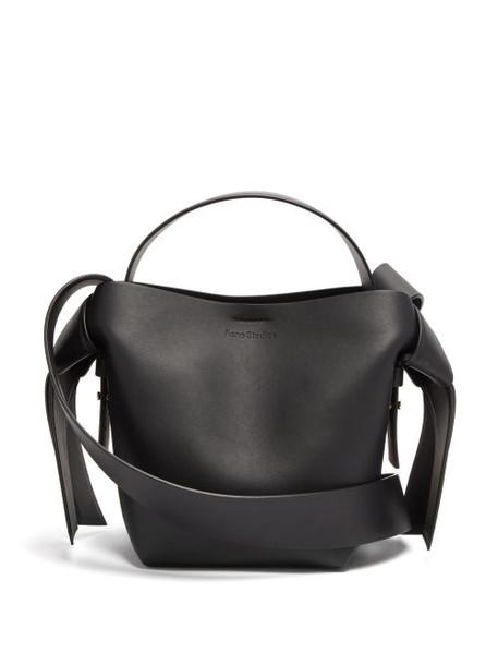 Acne Studios - Musubi Mini Leather Tote Bag - Womens - Black