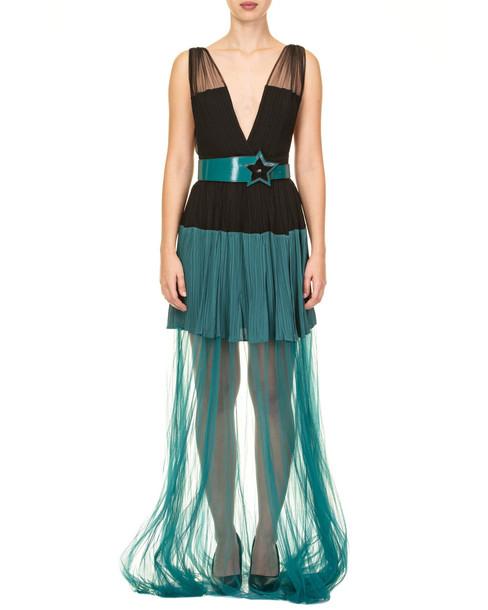 Elisabetta Franchi Celyn B. Elisabetta Franchi Celyn B. Elisabetta Franchi Dress in black / green