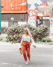 thehuntercollector,blogger,top,shoes,jewels,sunglasses,bag,pants