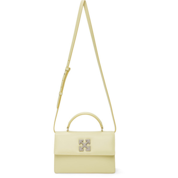 Off-White Yellow Jitney 1.4 Bag