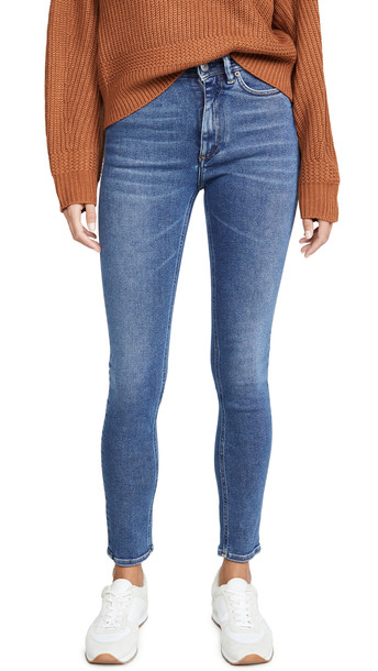 Acne Studios Peg Jeans in blue