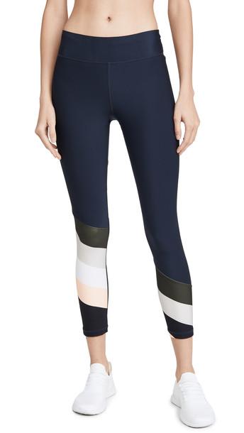 The Upside Flip Side Midi Pants in black / multi